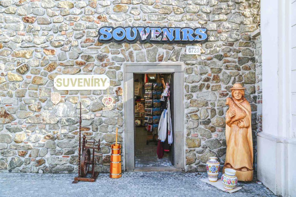 SLOVAK SOUVENIERS shop