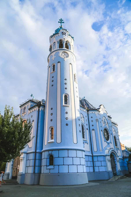 BLUE CHURCH (CHURCH OF ST. ELIZABETH)