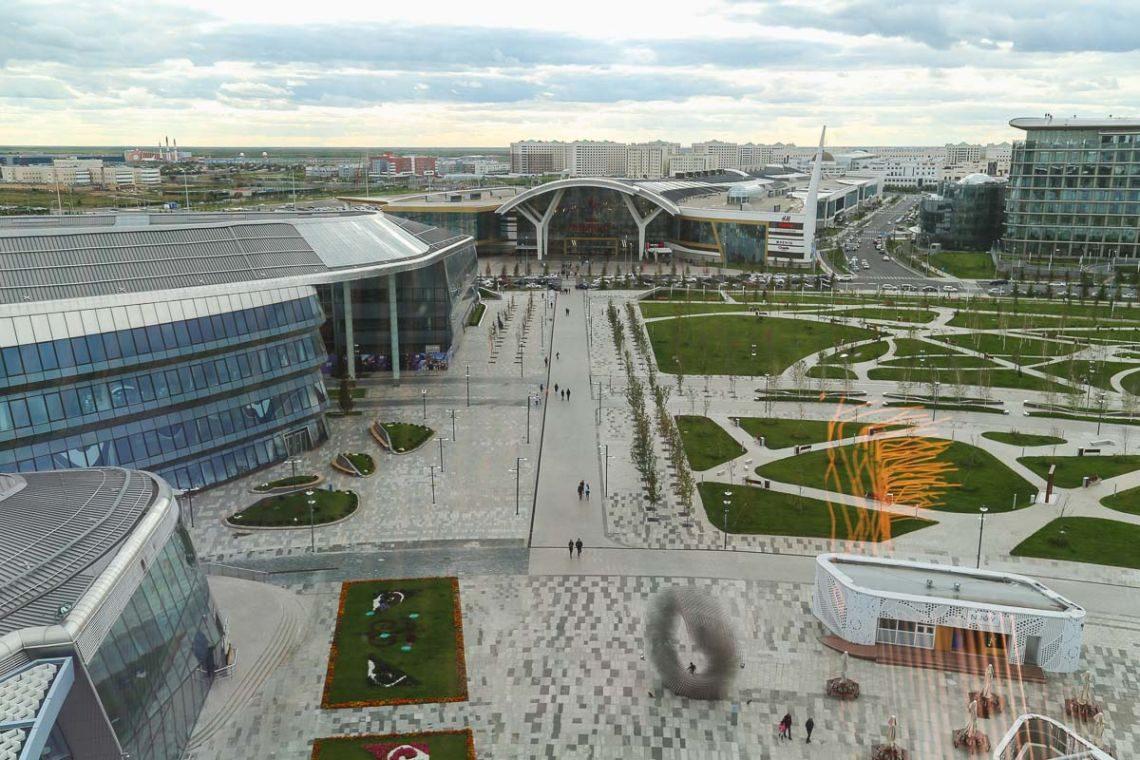 Astana mega silky mall